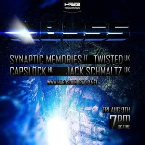 """Synaptic Memories @ """"The Abyss"""" HardSound radio 09.08.2013"""