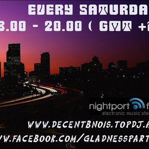 2011.05.21. Gladness Radio Show @ Nightport.fm