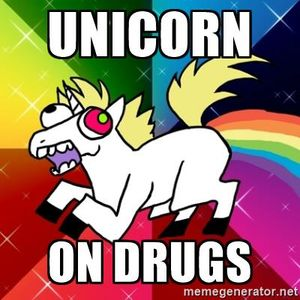 Unicorntekk- Unicorn on Drug