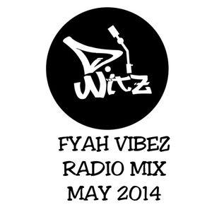 DJ WITZ - Fyah vibez mix radio may 2014 #dancehall