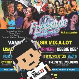 Freestyle Festival Tribute mix