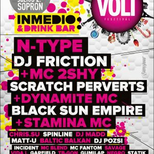 Savage & MC Fantom - VOLT Festival - inMedio stage 110701