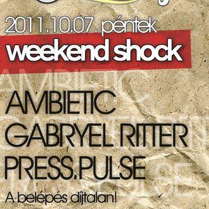 2011.10.07 live at Weekend Shock@GyöngyBowling