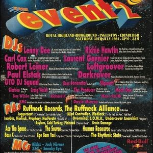 1994-07-30 - Lenny Dee @ Rezerection Event 2, Scotland