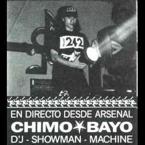 Discoteca Arsenal (Oliva) Chimo Bayo dj 1988 - CARA B