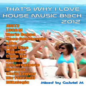 VA - That's Why I Love House Music B!@ch 2012 mixed by Gabriel M