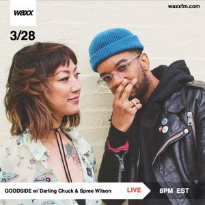 Goodside w/ Darling Chuck & Spree Wilson + KOOL A.D. & Cult Days on @WAXXFM (03.28.17)