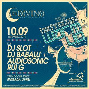DJ Slot @ Technology WarmUp (El Divino Club - Portugal)