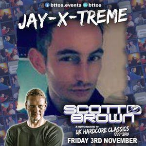 Jay-X-treme - Scott Brown: UK Hardcore Classics 03-11-17 (Promo Mix)