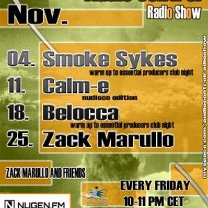 Belocca @ Audio Control Radio Show (2011.11.18.)