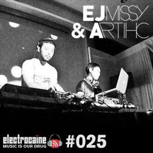 electrocaïne session #025 – EJ missy & Artihc live at SAM
