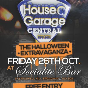 HnG Central The Halloween Extravaganza @ Socialite Bar 26/10/12 Promo Mix By Dj Styla