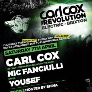 Yousef - Live @ Carl Cox The Revolution, Electric Brixton, Londres, IInglaterra (07.04.2012))