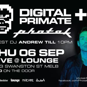 Digital Primate live set Sept 2012