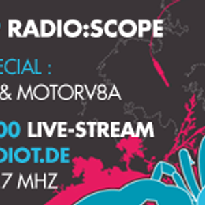 Geroyche b2b Motorv8a at Radio:Scope 07-01, 2009