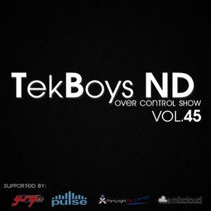 TekBoys ND - Over Control Vol.45