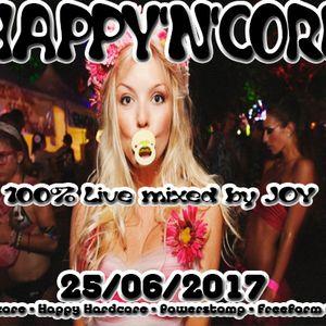 ( uk hardcore - powerstomp - happy hardcore - makina ) HAPPY'N'CORE 25-06-2017