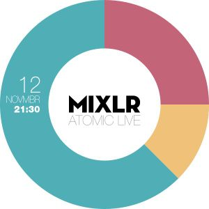 Atomic - 5th MIXLR Drum And Bass Broadcast (12.11.2012)