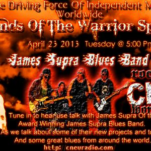 Sounds Of The Warrior Spirits Interview James Supra Blues Band