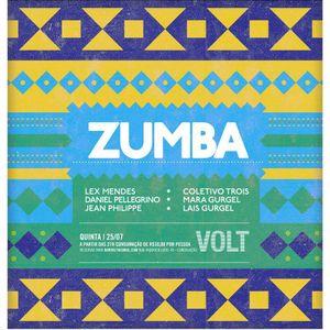 ZUMBA PARTY - Bar VOLT - 25 de Julho de 2013 (Daniel Pellegrino Setlist)