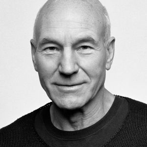 Lunchtime with Patrick Stewart