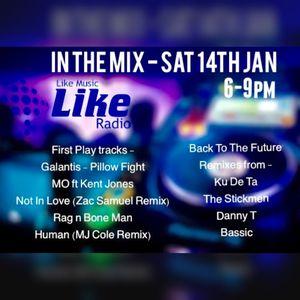 Saturday 14th January on Like Radio