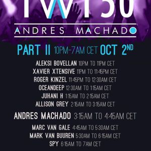 Andrés Machado Pres. TranceWorld Tunes 050 Part II (Oct 2nd 2012) [Aleksi Bovellan's Set]