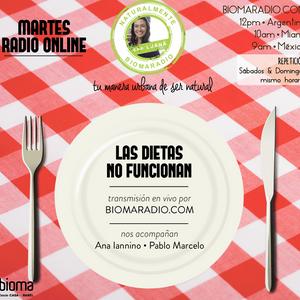 """Tema: Las Dietas NO funcionan en """"Naturalmente Con Luana"""" @biomaradio"""