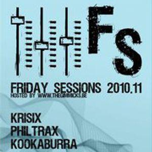 Krisix' Friday Sessions @ JC Den Daak Mixtape [2010]