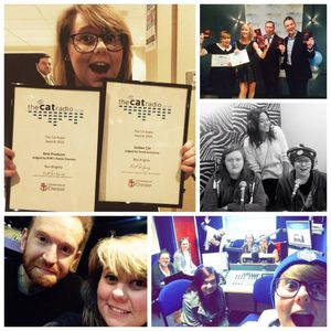 Best Producer and The Golden Cat at The Cat Radio Awards 2016