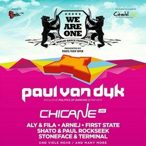 Paul van Dyk - Live @ WE ARE ONE Festival, Citadel Spandau, Berlin (06.07.2013)