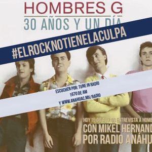 Hombres G En Entrevista con música inédita y rarezas en El Rock No Tiene La Culpa