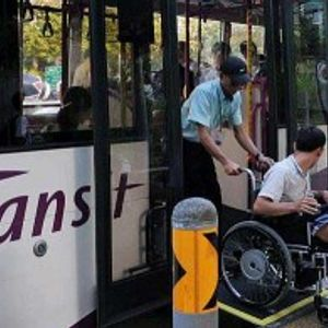 Inclusive transportation system for person with disabilities