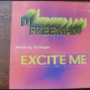 Fergie Freeman - Excite Me (Side A) 1999