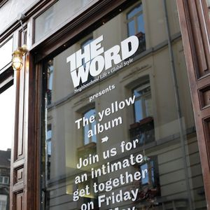 The yellow album launch party
