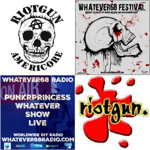 PunkrPrincess Whatever Show live interview with Riotgun recorded live 3/15/16
