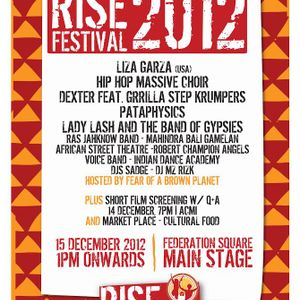 RISE REFUGEE 2012 [DJ Set]
