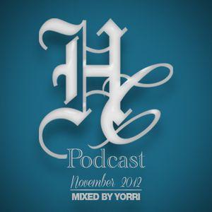 House Cartel Podcast November 2012 Mixed By Yorri