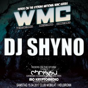 DJ Shyno for RIDERS ON THE STORMs WMC Round 3