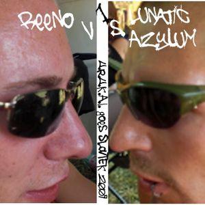 Reeno vs  SCH4LL THER4PIE @ SLOVTEK09 Pt.I
