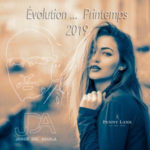 Évolution ...  Printemps 2019