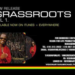 Mixmaster J interviews Visionary LIVE on the Certified Reggae Drivetime Show on Mystic Radio