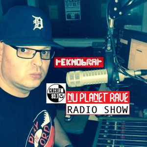 TEKNOBRAT live on The Nu Planet Rave Radio Show Episode 047 part 2 & 3 - 2014-09-14th CKCU 93.1 FM