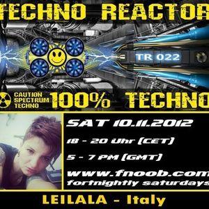 LEILALA x Techno reactor fnoobradio.com