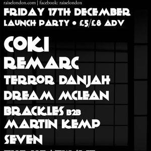 Raise - Launch Party Promo Mix - Dec 17th, Corsica Studios