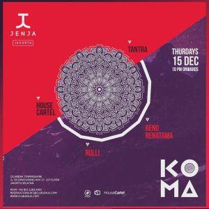 Reno Renatama's Live Record at Jenja, Jakarta Dec 15th, 2016