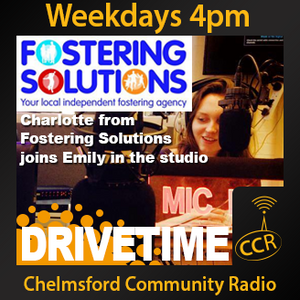 Tuesday Drivetime - @CCRDrivetime - Emily Graves - 29/04/14 - Chelmsford Community Radio