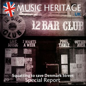 Special Report - Squatting to save Denmark Street