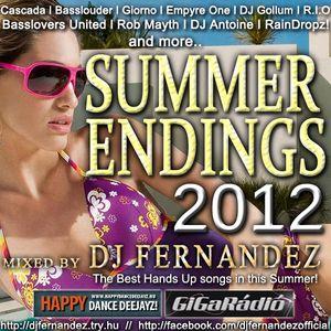Summer Endings 2012 Mixed by Dj FerNaNdeZ (Hands Up) Prew