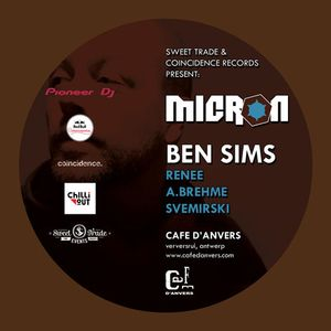 As Played On Micron 2.0 - 30 01 2015 - Cafe D'Anvers Belgium